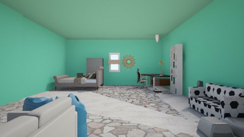 Worth filled Room  - Eclectic - by Tati Wuvs Adventure Time