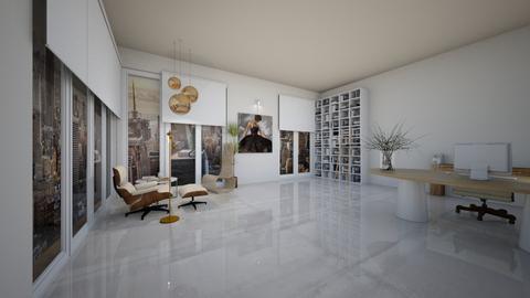 office  - Office  - by preeyanat