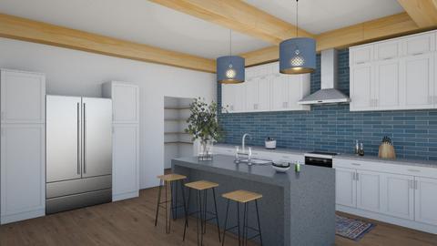 Ocean kitchen - Modern - Kitchen  - by ana pogorelec