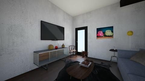 Descansar se - Retro - Living room  - by Adrieel_schn