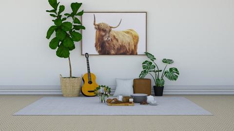Indoor Picnic - by KierraClumdesign