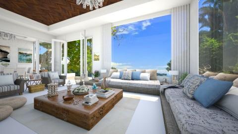 Casa de Praia Paraiso - Living room  - by Roberta Coelho