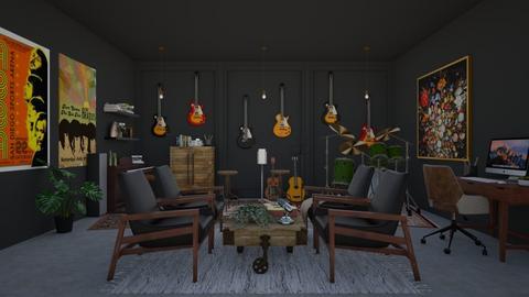 Music Room - by shaunashaji