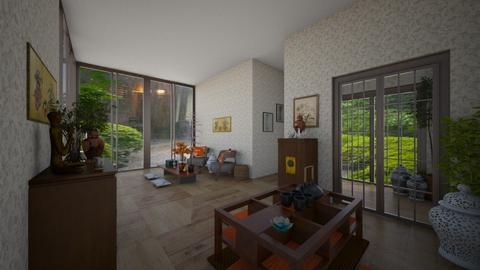 Big Window - Modern - Living room  - by Irishrose58