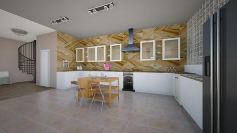 retrostudio1 - Retro - Kitchen  - by Jacqueline De la Guia
