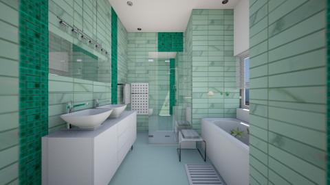Small bathroom - Classic - Bathroom  - by Sama Elhendy