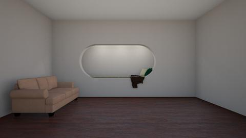 Hole in the Wall - Modern - Bedroom  - by alonatech_2nd
