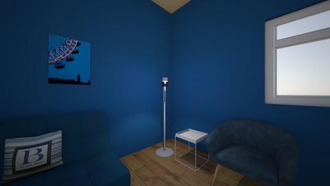 orange - Living room  - by Breanna Hewey