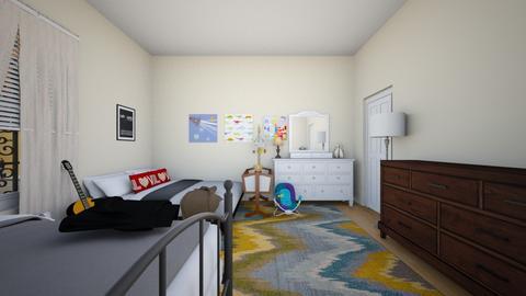 1 Family Bedroom 3 - Bedroom  - by SammyJPili