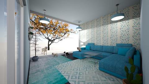 Waves - Modern - Living room - by hala011