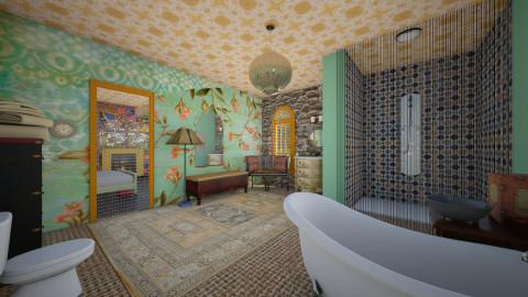 Boho bathroom - Eclectic - Bathroom  - by mrschicken