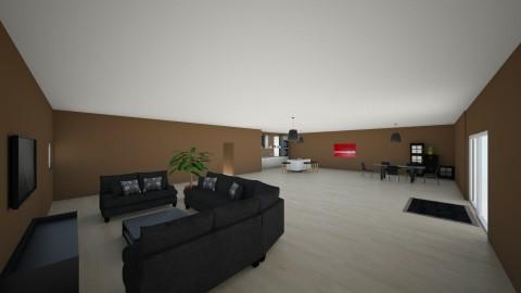 Stock Home  - Living room  - by hunteronstad