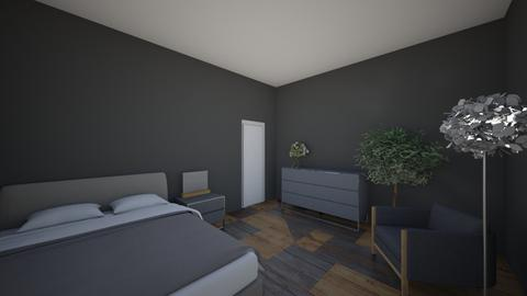Interior design project  - Bedroom  - by collieram