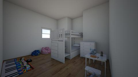 kids room - Modern - Bedroom  - by kaugust2102