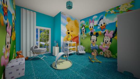 Rowan - Kids room  - by starinthesky1987