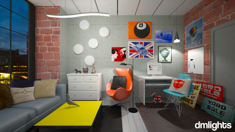 Student In London - Eclectic - Living room  - by KRdesign