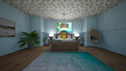 summer house - Bedroom  - by coco fox