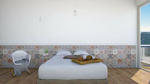 Fresh and clean Bedroom - Minimal - Bedroom  - by PenelopeTheodora