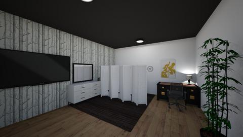 bedroom - Minimal - Bedroom  - by skyee