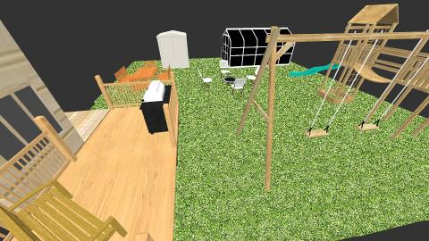 Cute backyard - Classic - Garden  - by madisonsky