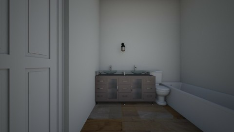 house bathroom - by cram