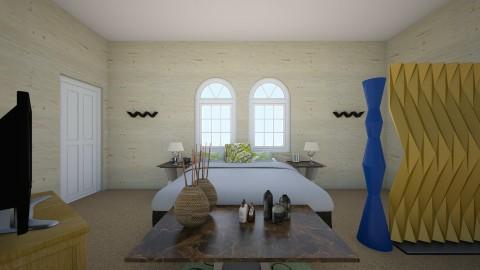 Simple bedroom - Bedroom - by callumip9