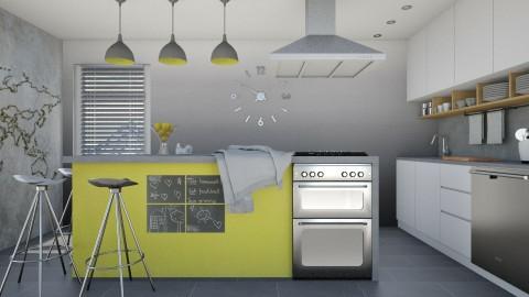 Busby kitchen - Modern - Kitchen  - by Liu Kovac