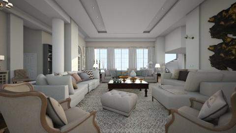 Mansion Edir Macedo  - Glamour - Living room  - by gianbarbieri