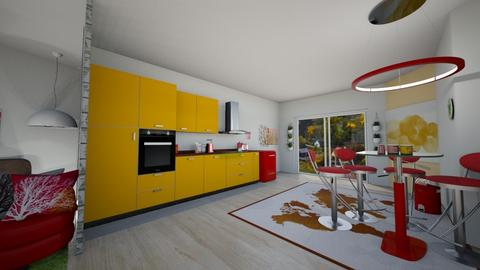 Retro kitchen - Kitchen  - by PaNita