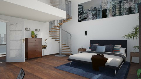 Man - Modern - Bedroom  - by Sali15