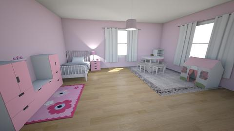 little girl - Kids room - by ryan1101