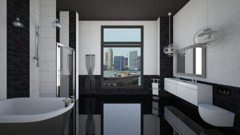 city bathroom - Modern - Bathroom  - by Aurora Boreas