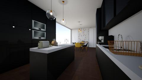 Modern boho kitchen - Modern - Kitchen - by 17Marie12