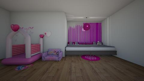 Girl bedroom - Glamour - Kids room  - by ChristmasHamster