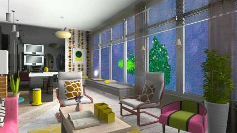 Its Eclectic w fire - Eclectic - by APInteriors
