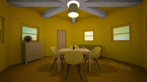 Yellow Room - Bedroom  - by sisters marin