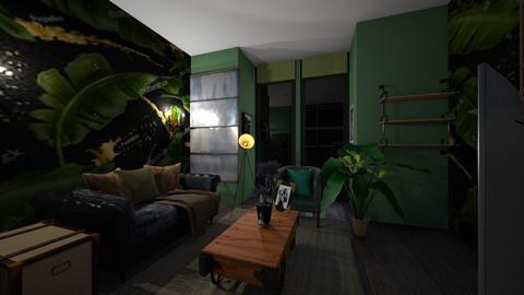 botanical living room - Living room - by loisep1999