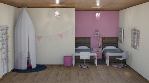 Pink kid's bedroom - Kids room  - by Coco_Iover
