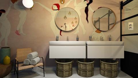maison c design - Bathroom  - by Ripley86
