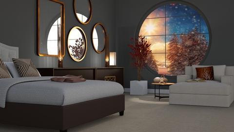 Winter Bedroom - by KKTO