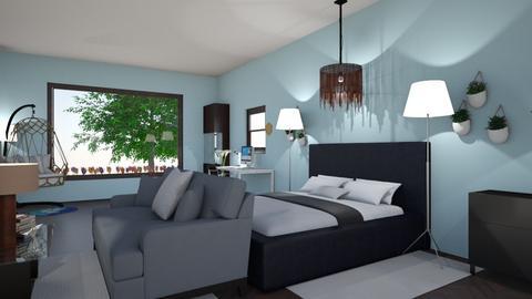 Bedroom 4 - Modern - Bedroom  - by sherrylizhu