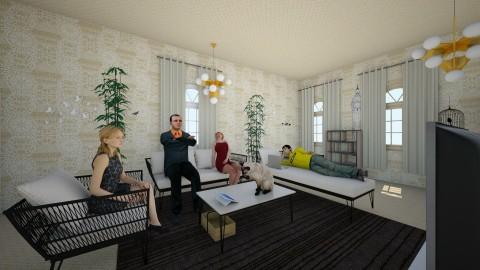456 - Vintage - Living room  - by Mist13
