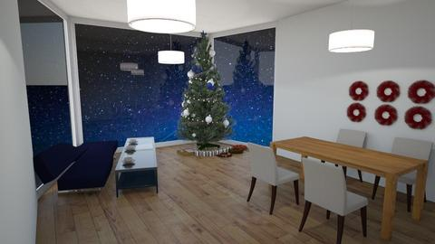 Christmas room - Modern - Living room  - by gamewiner