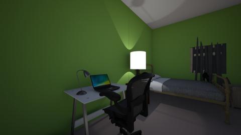 Grace Vela - Bedroom  - by restepe