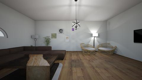 cute living room - by Raven15