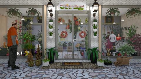 flower shop - by ilcsi1860
