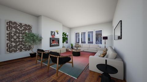 752ELR7 - Living room  - by evakarwowska