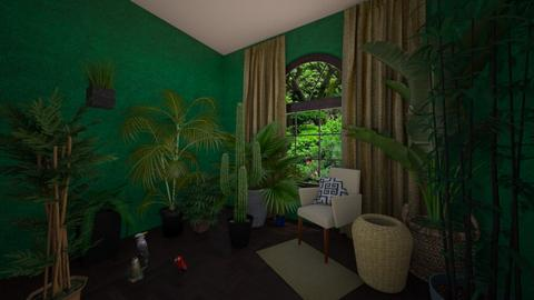 Green Snuggery - Eclectic - Garden  - by MiDesign
