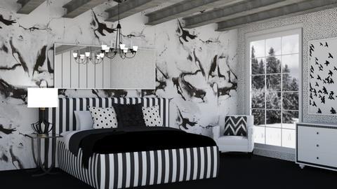 Zebra - Bedroom  - by LaylaaaarrrJF