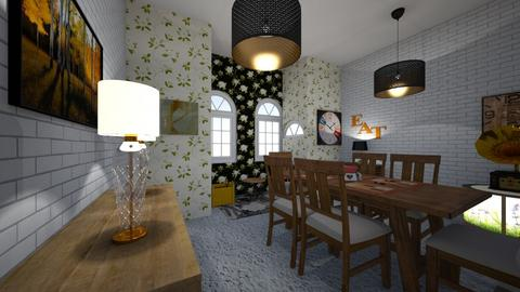Elegant dining room - Dining room - by majarex
